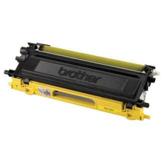 Brother TN-110Y OEM Yellow Toner Cartridge