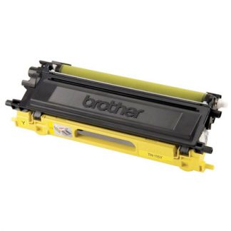 Brother TN-115Y OEM Yellow Toner Cartridge