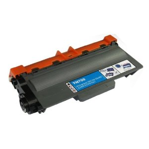 Brother TN-750 Compatible Black Toner Cartridge