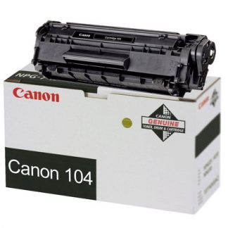 Canon 104 OEM Black Toner Cartridge(0263B001)