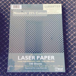 Cotton Paper 25 100/ box