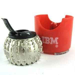 IBM Selectric 3 Typewriters Typeface Element Ball/Element for IBM Selectric III
