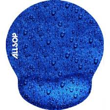 Mouse Pad Pro With Wrist Rest Raindrop