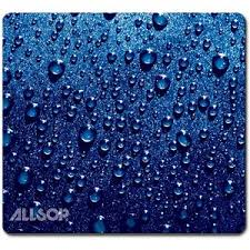 Mousepad Raindrop Blue Naturesmart