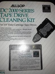 Allsop DC 2000 Series Tape Drive Cleaning Kit for data cartridge tape